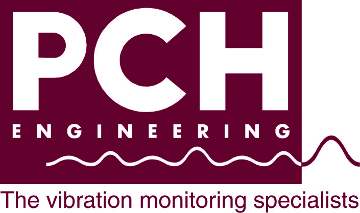 CHO9001-02S PCH Logo - The vibration monitoring sp