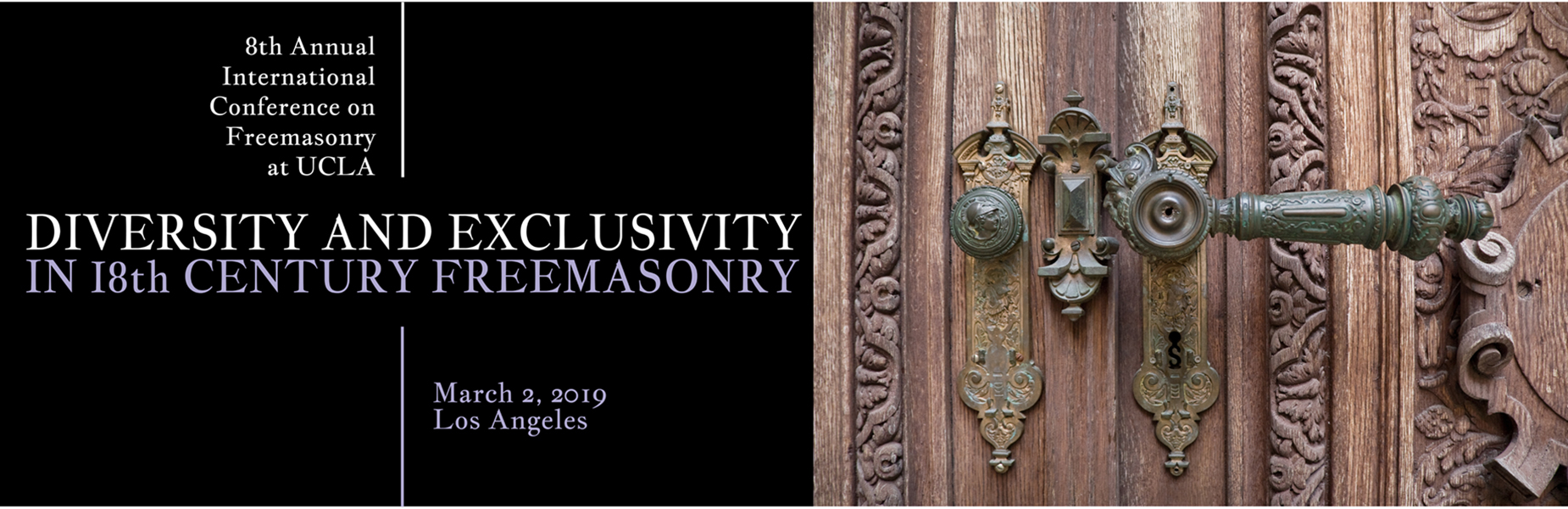 8th International Conference on Freemasonry
