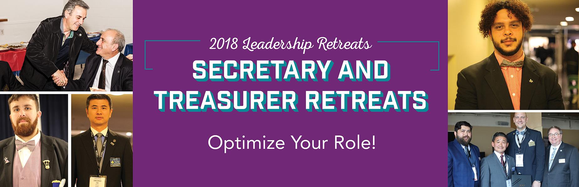 2018 Secretary and Treasurer Retreat