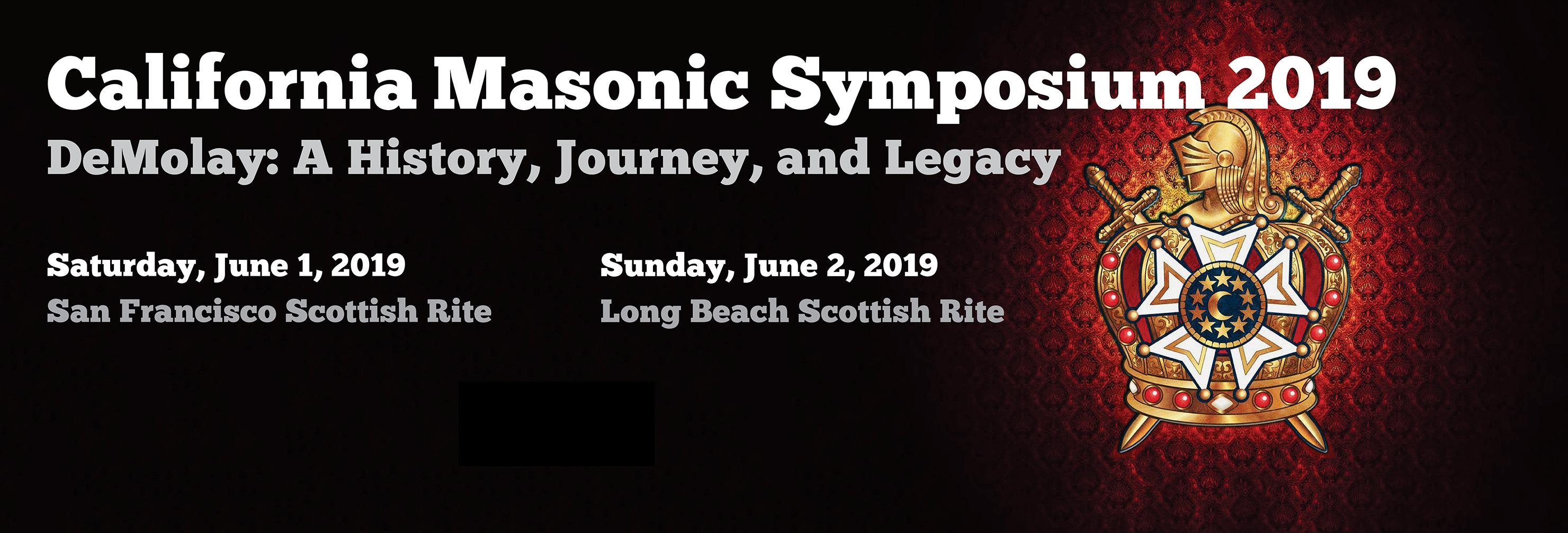 19th Annual California Masonic Symposium