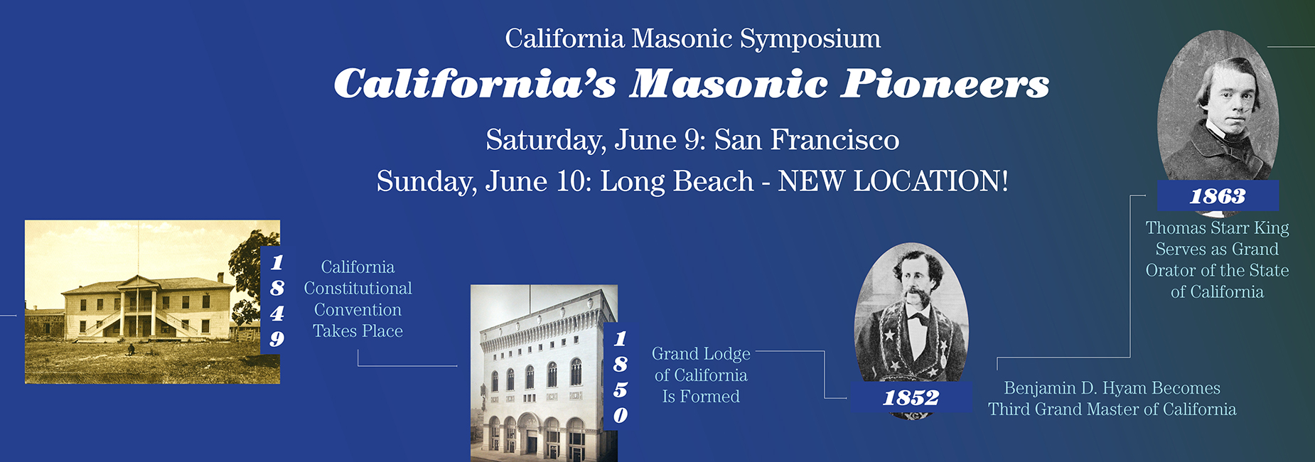 18th Annual California Masonic Symposium