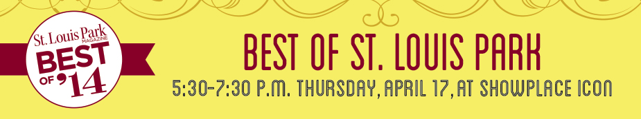 St. Louis Park Magazine 2014 Best Of Awards