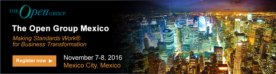 The Open Group Mexico 2016