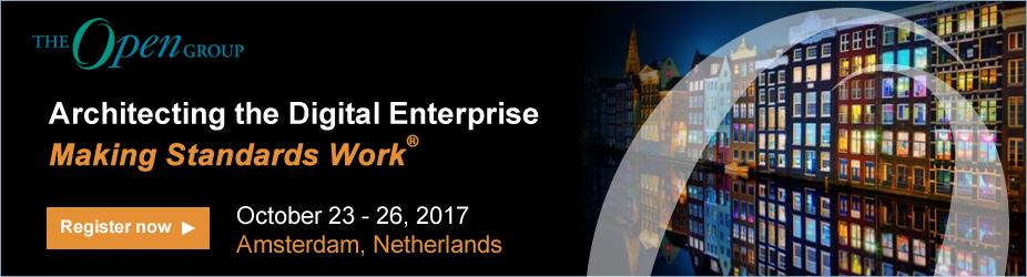 Architecting the Digital Enterprise - Making Standards Work @ Amsterdam   Noord-Holland   Nederland