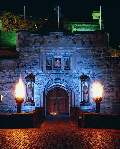 Edinburgh Castle Flambeaux