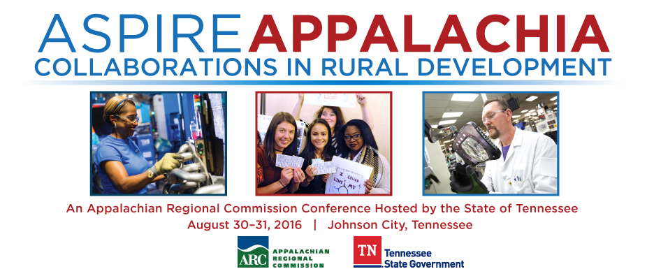 spire Appalachia: Collaborations in Rural Development, August 30-31, 2016, Johnson City, TN