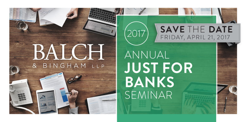 """FIFTH ANNUAL """"JUST FOR BANKS"""" EMPLOYMENT LAW SEMINAR"""