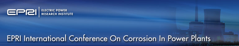 Call For Papers: EPRI International Conference on Corrosion in Power Plants