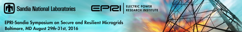 Symposium on Secure and Resilient Microgrids