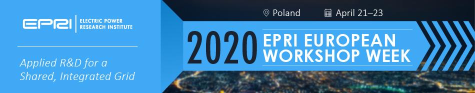 EPRI European Virtual Workshop- April 2020