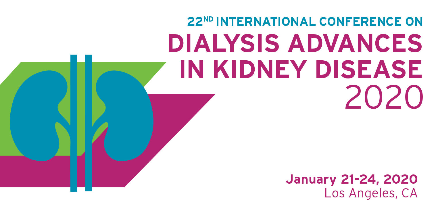 22nd International Conference on Dialysis - Advances in Kidney Disease 2020