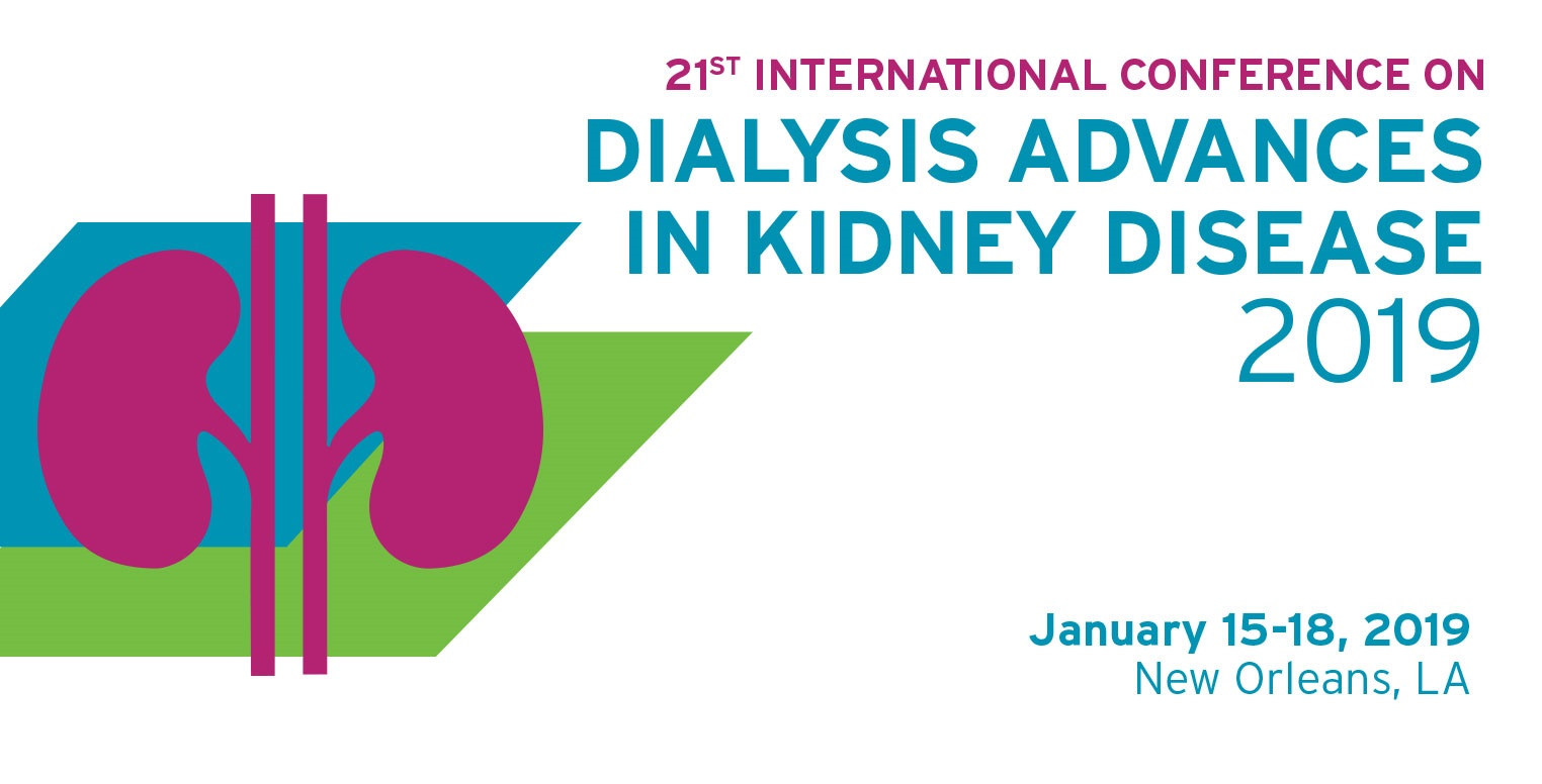 21st International Conference on Dialysis  - Advances in Kidney Disease 2019