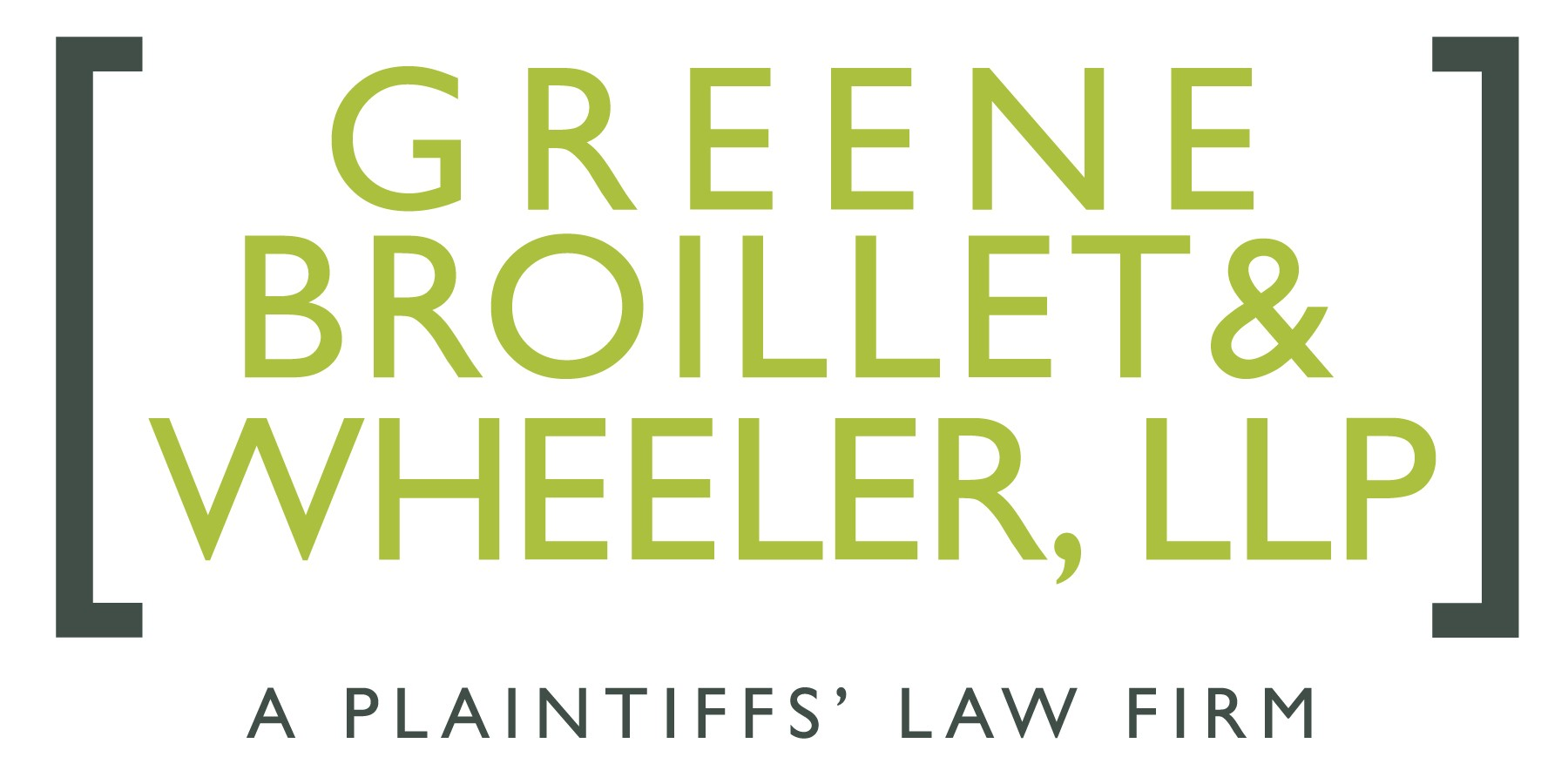Greene Broillet stacked - a plaintiffs law firm