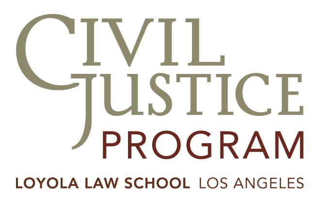 CIVIL JUSTICE LOGO