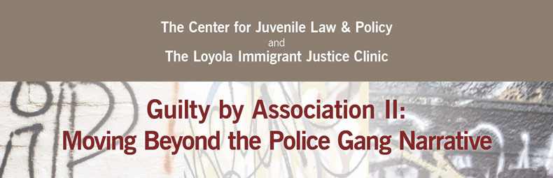 Guilty by Association II: Moving Beyond the Police Gang Narrative