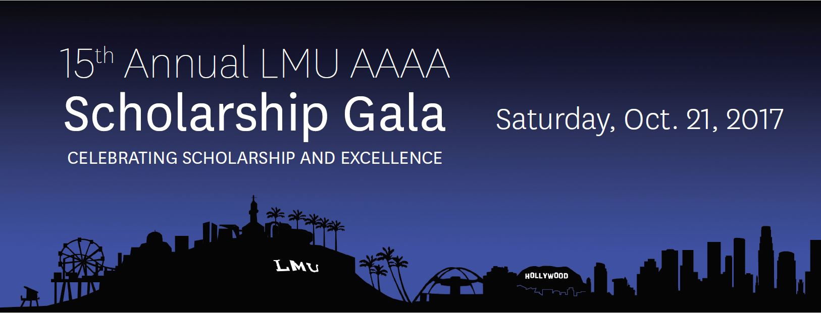 15th Annual AAAA Scholarship Gala