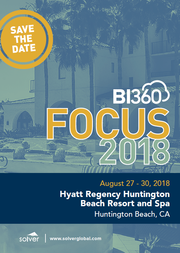 Save the Date Focus 18