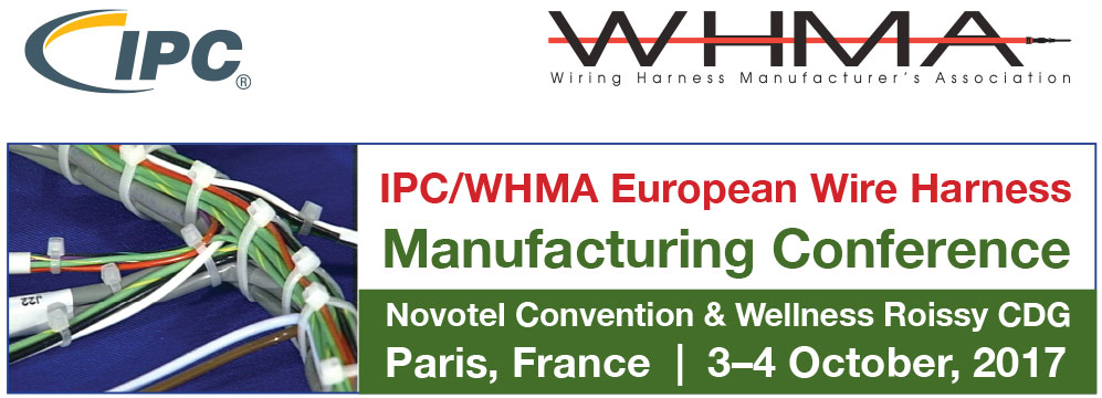 IPC/WHMA European Wire Harness Manufacturing Conference