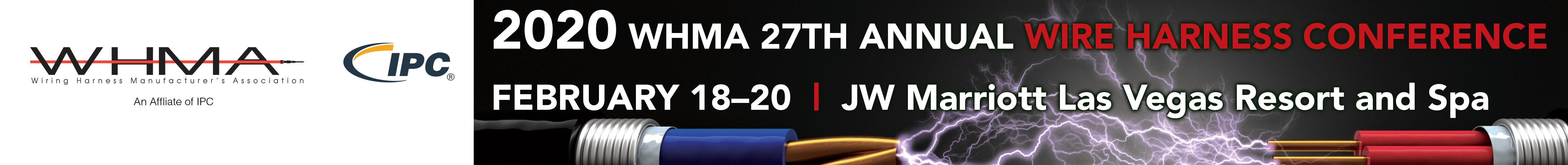 2020 WHMA 27th Annual Wire Harness Conference