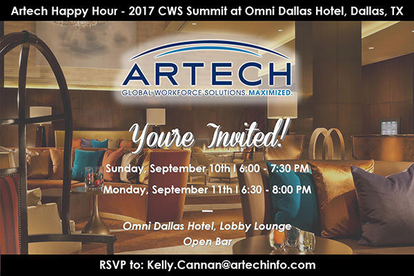 Artech event at 2017 CWS Summit North America