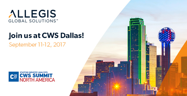 Allegis event at 2017 CWS Summit North America