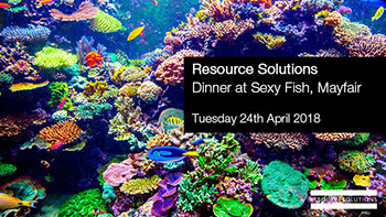 Resource Solutions evening event at CWS Summit Europe 2018