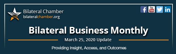 March 25, 2020 Newsletter Header