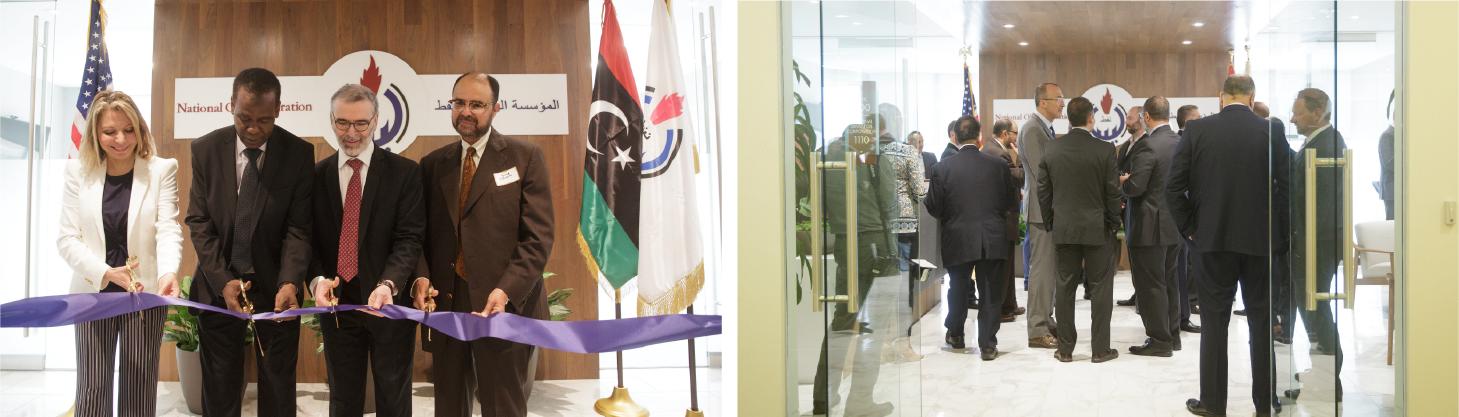 2019 May Newsletter - libya ribbon cutting-24
