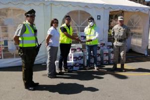 Bechtel donating equipment