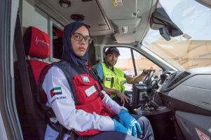 UAE front line workers