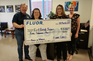 Fluor donation