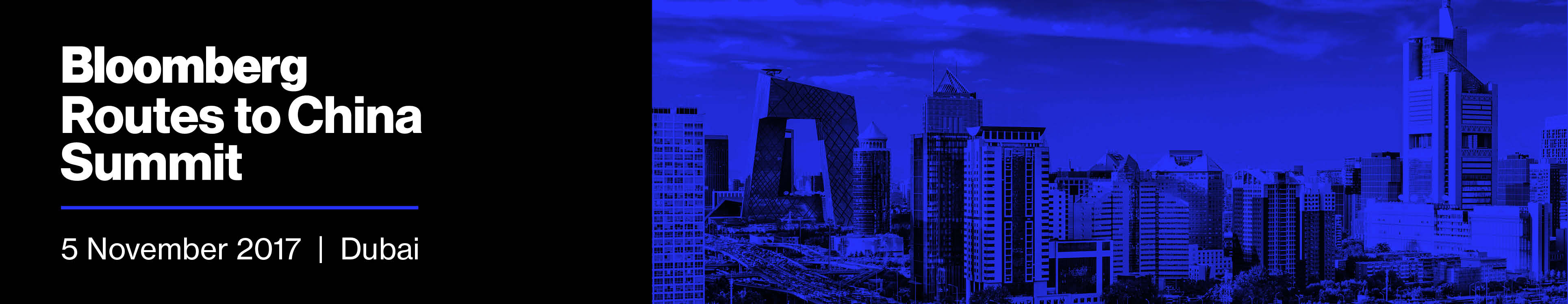 Bloomberg Routes to China Summit