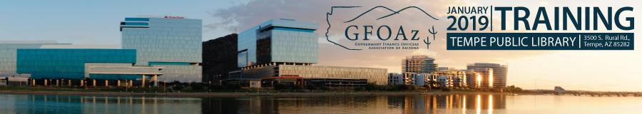 GFOAz 2019 January Training