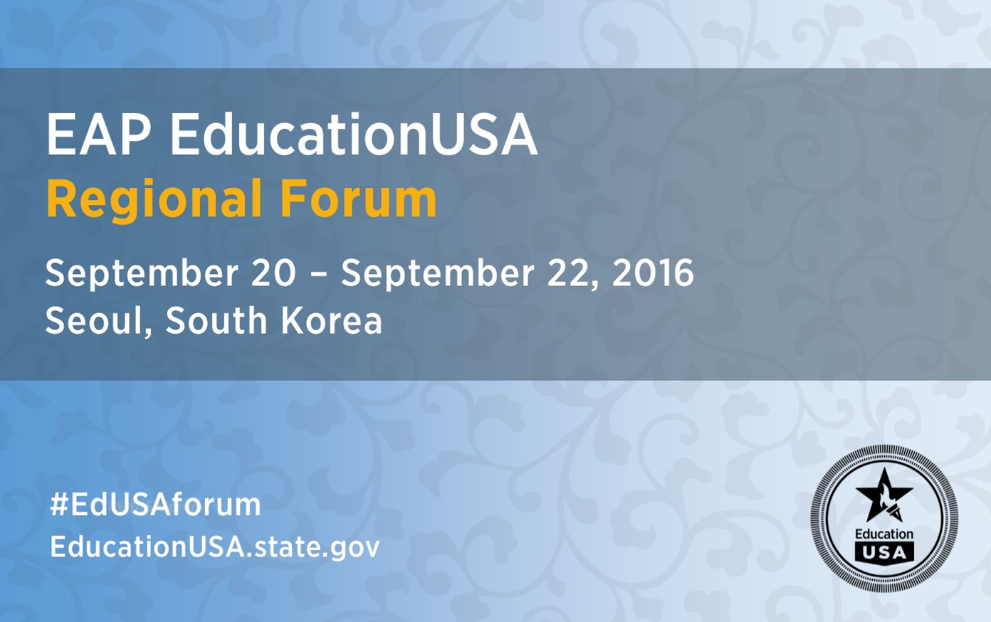 EducationUSA EAP Regional Forum 2016