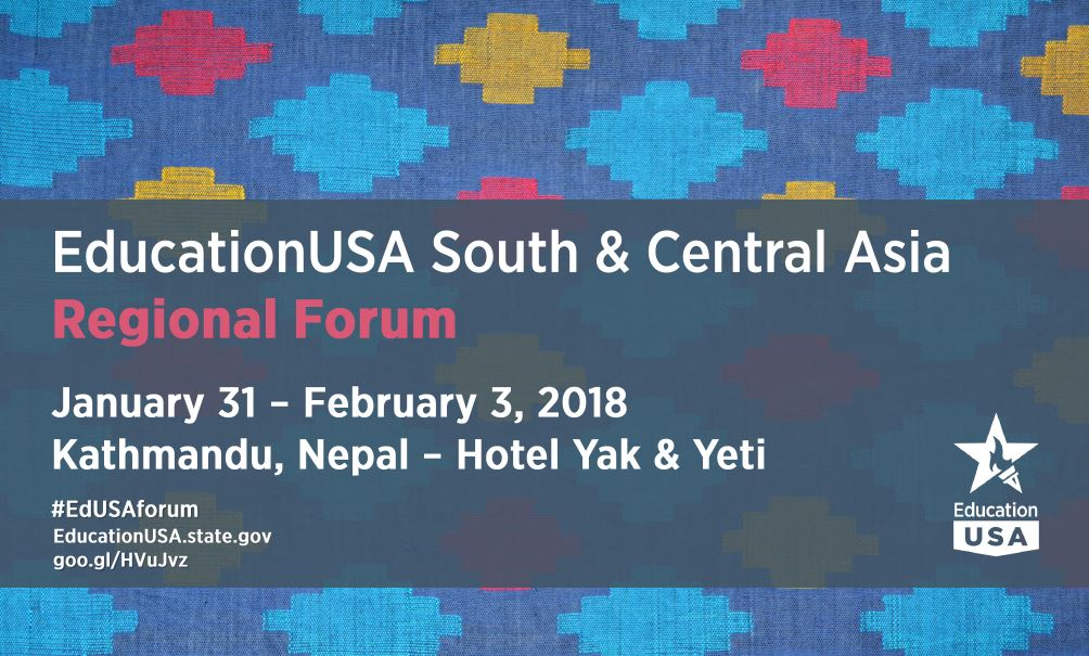 EducationUSA SCA Regional Forum 2018