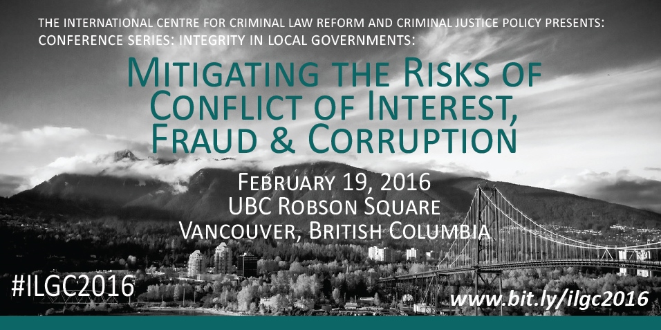 Integrity in Local Governments: Mitigating the Risk of Conflict of Interest, Fraud & Corruption