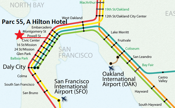 BART map for website