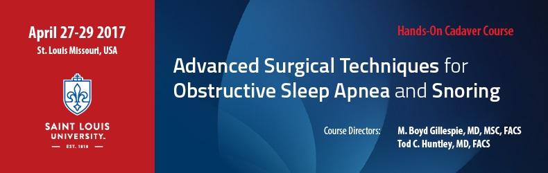 Advanced Surgical Management of Obstructive Sleep Apnea