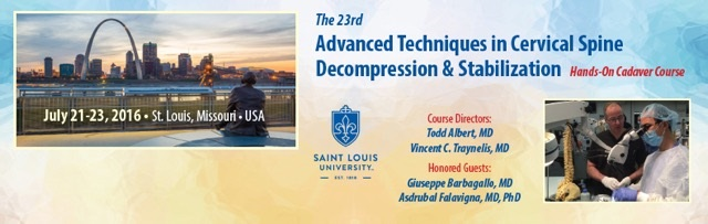 The 23rd  Advanced Techniques in Cervical Spine Decompression and Stabilization