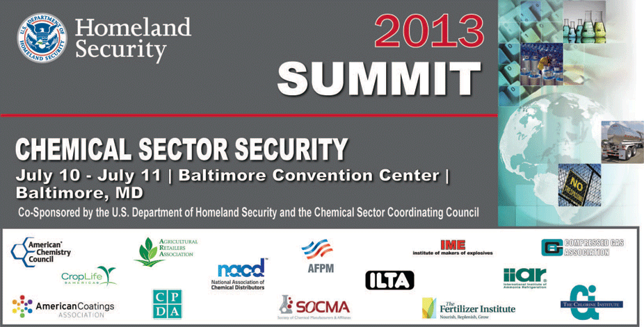 2013 Chemical Sector Security Summit