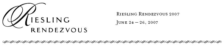 Riesling Rendezvous