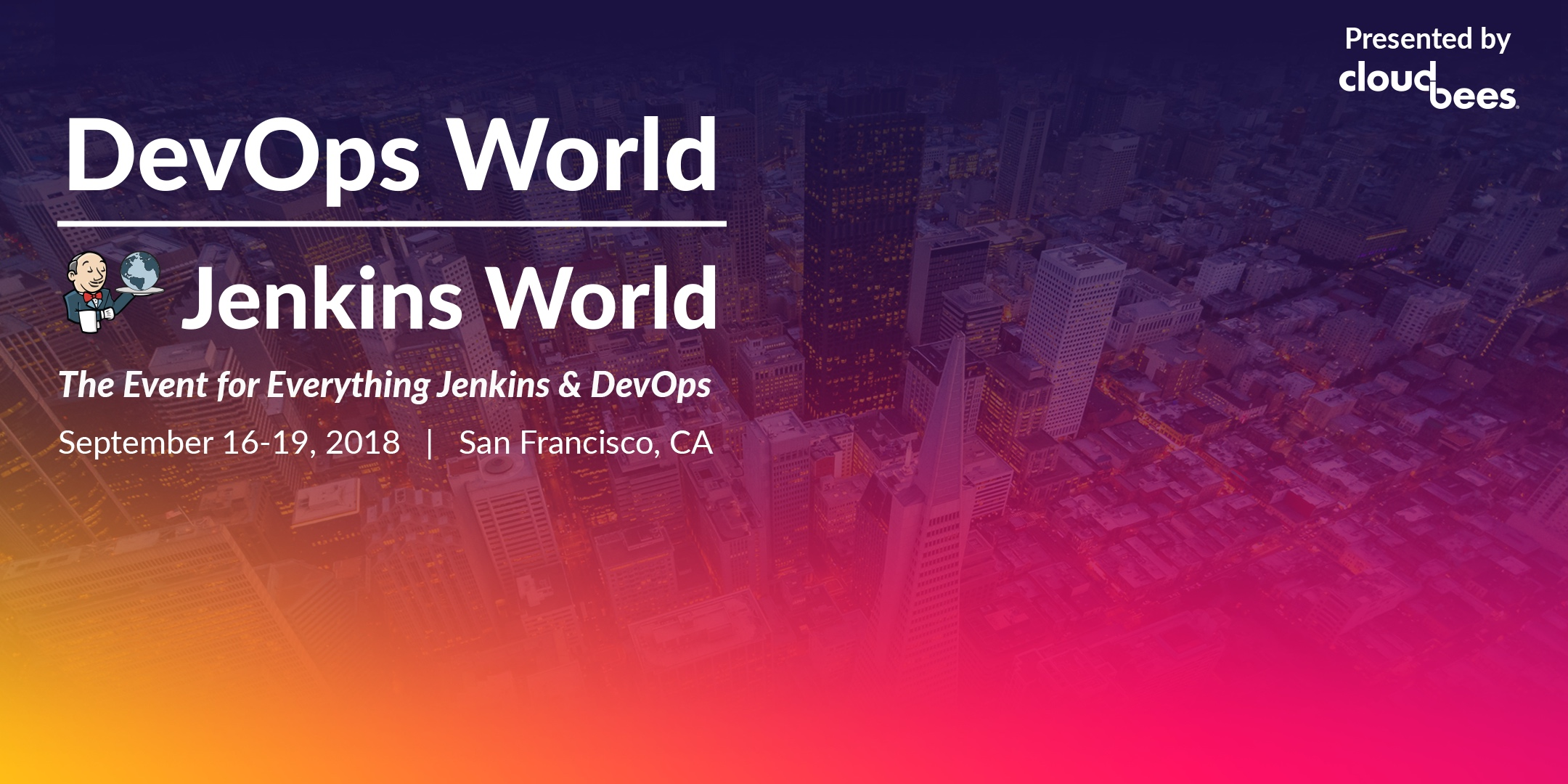 DevOps World | Jenkins World 2018 San Francisco