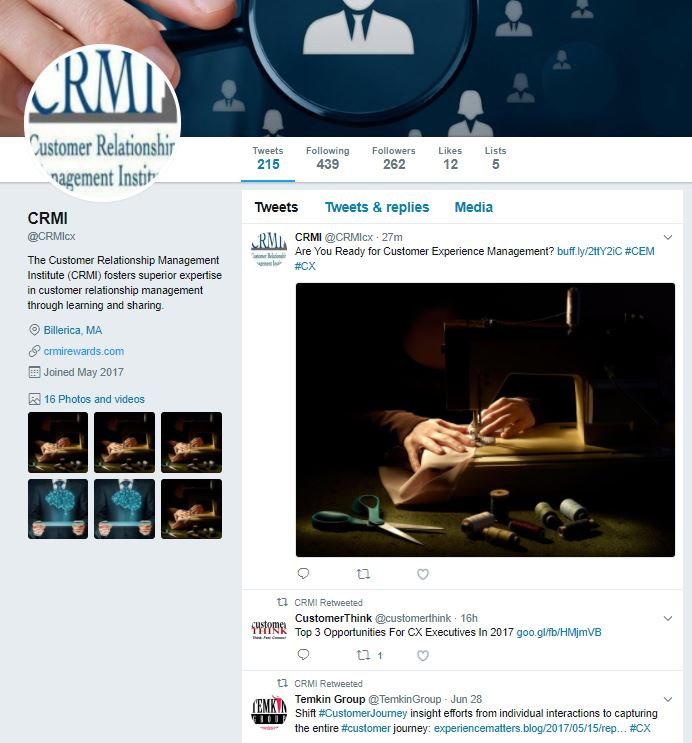 CRMI Twitter_Website Homepage