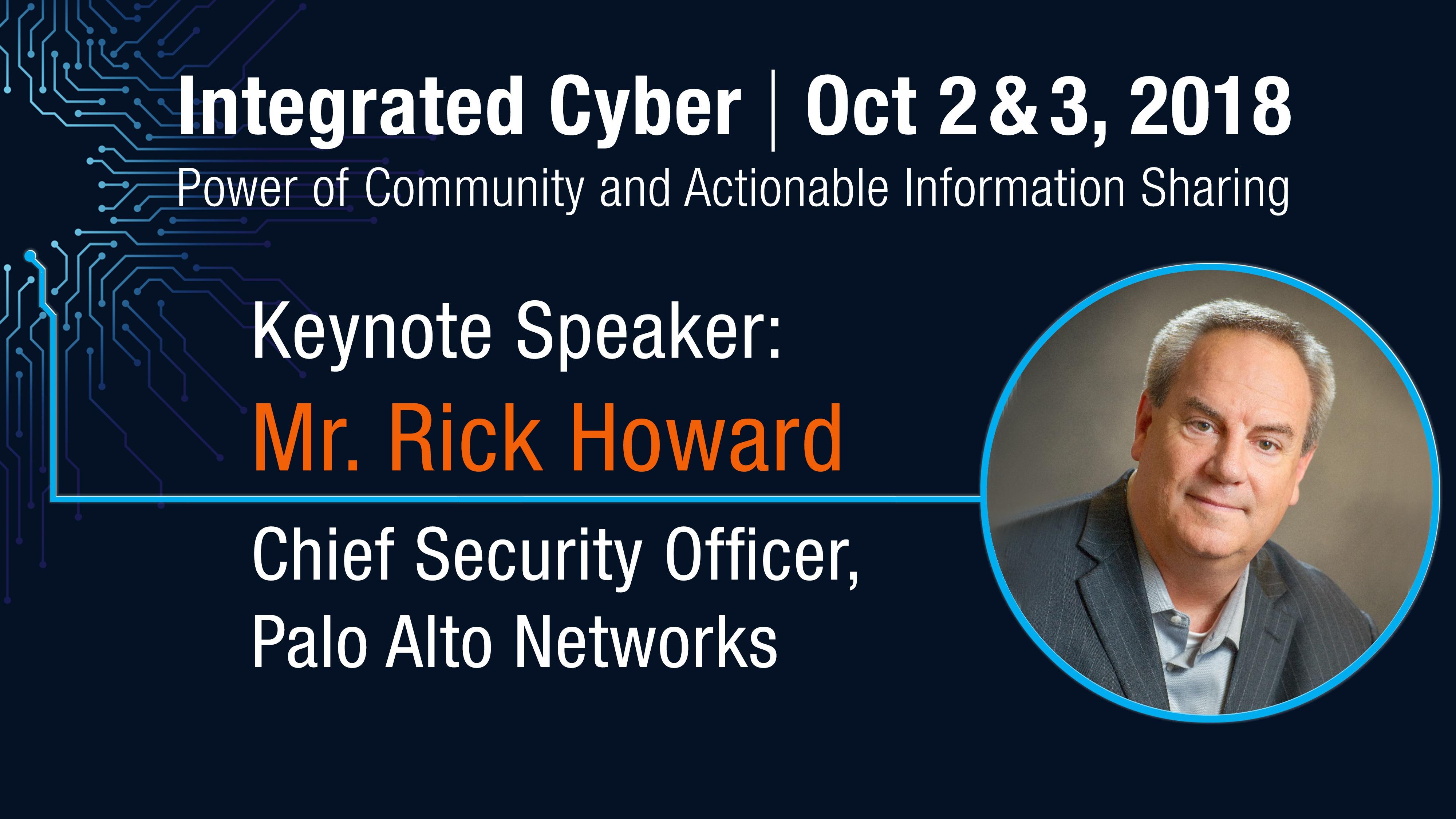 1 Keynote Speaker_Howard sm