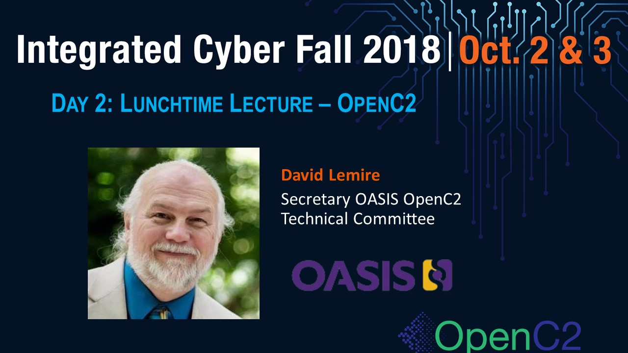 Day 2 Lunchtime Lecture - OpenC2