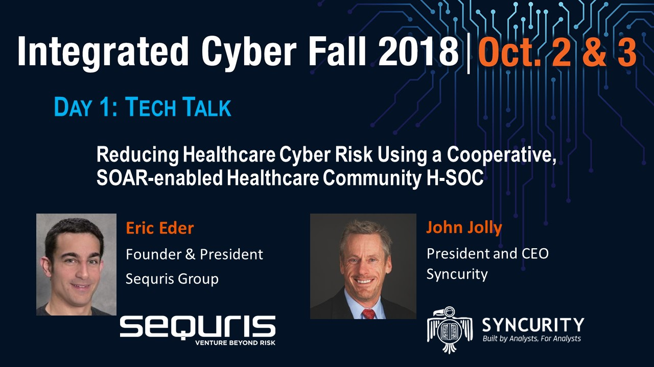 Day 1 BS2 TT - Reducing Healthcare Cyber Risk