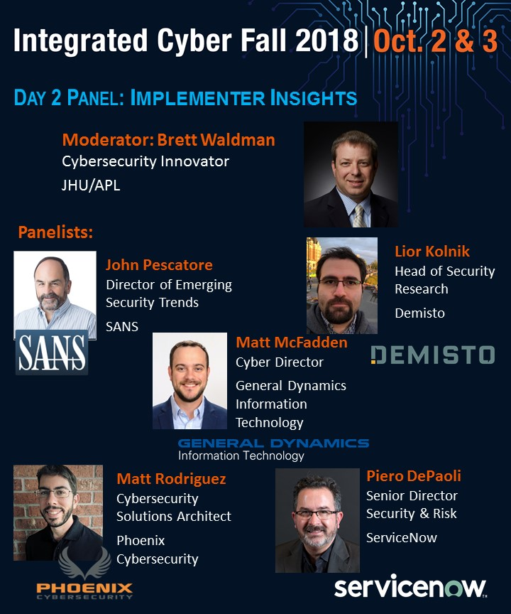 Day 2 BS3 Panel - Implementer Insights