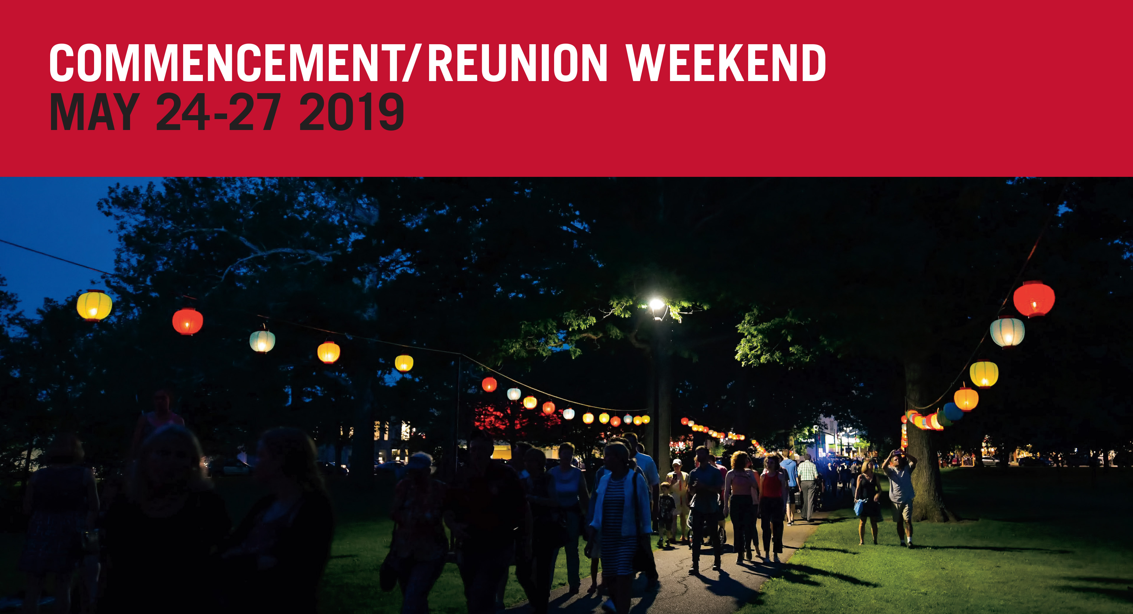 Oberlin College Commencement/Reunion Weekend 2019