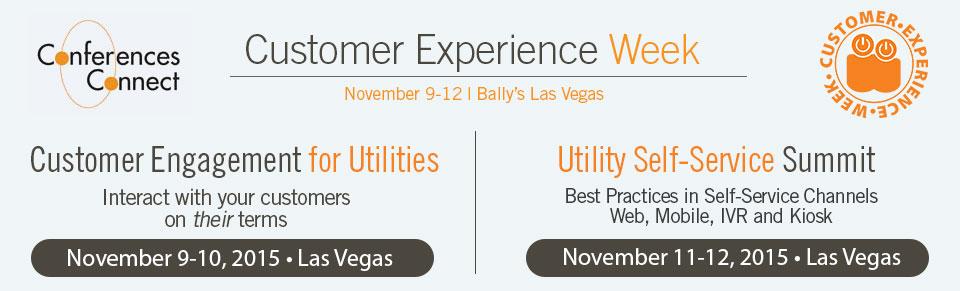 Utility Customer Experience Week 2015