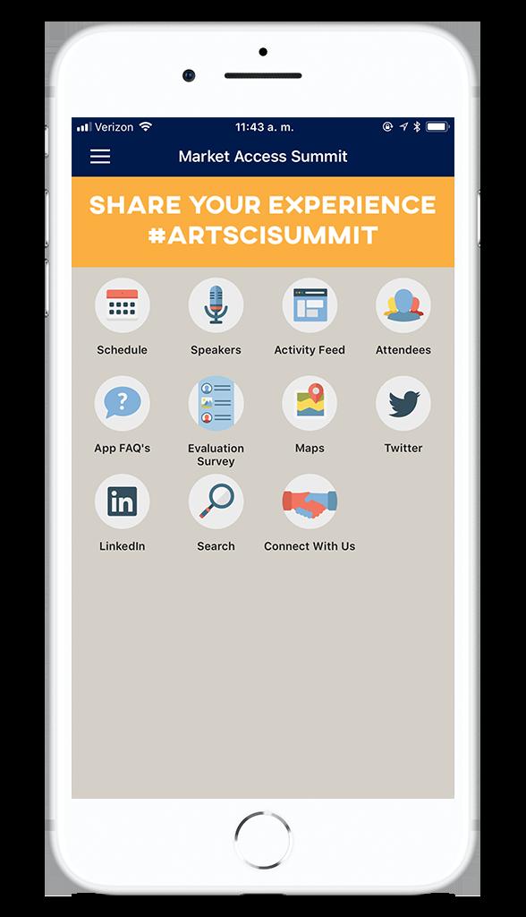 ArtSci Summit app